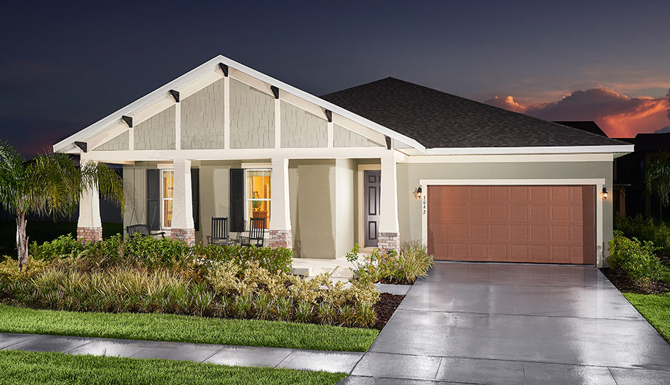 Sawgrass Waverly Exterior single story home