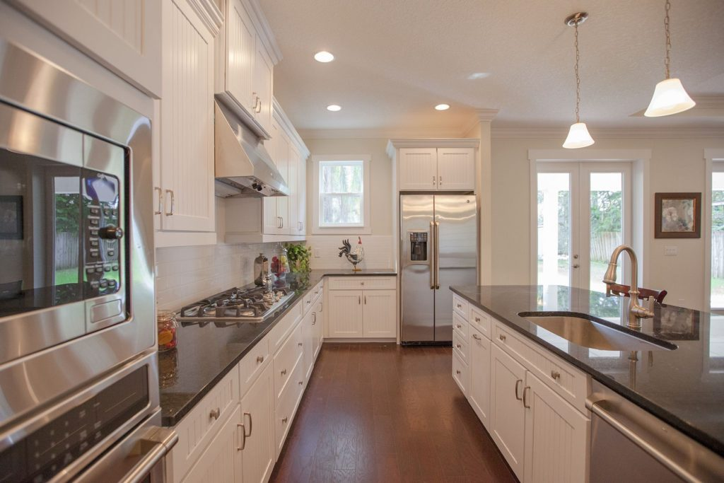 Delaney natural light open kitchen