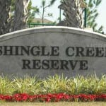 Shingle Creek Reserves entrance