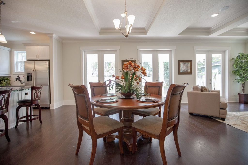 Delaney home open dining room