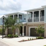 Exterior of New Townhomes