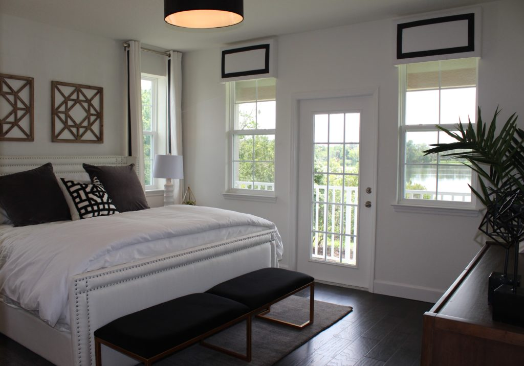Natural light in Master Bedroom