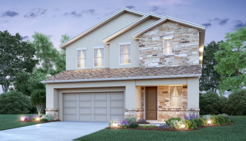 Visual representation of the Sterling II floor plan available at Greenville Commons in Casselberry, FL.