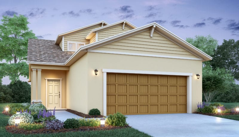 This home is a visual model of the Clayon home floor plan that is available at Ocoee Reserve exclusively by Avex Homes.