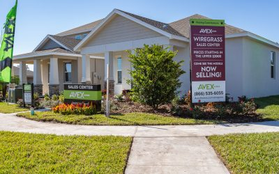 Avex Homes Announces Floor Plan Availability for New Wiregrass Community in St. Cloud
